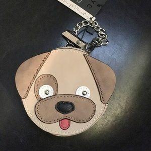 New Adorable puppy wristlet coin purse